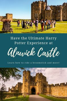 Ultimate Alnwick Castle Harry Potter Guide This guide to Alnwick Castle explores everything you need to know to have the ultimate Harry Potter experience at the castle, while also exploring the historic elements of the estate beyond the wizarding world. Harry Potter Experience, Harry Potter Filming Locations, Literary Travel, Alnwick Castle, World Travel Guide, England And Scotland, Best Cities, Day Trips, Travel Inspiration