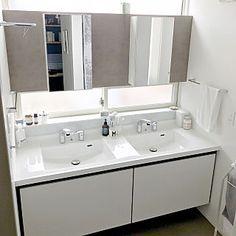 KotoRiさんの、リクシル,LIXIL,リクシルの洗面台,2ボウル,ルミシスのお部屋写真