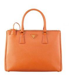 prada-primavera-estate-2014-borse-arancio - #orange #bag
