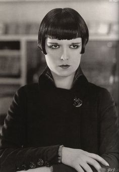 Louise Brooks as Kitty Laverne in A Social Celebrity, 1926