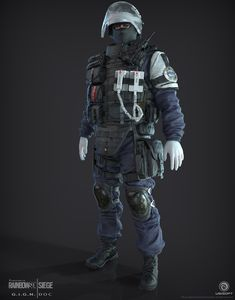 ArtStation - Doc | GIGN |Rainbow 6|Siege, J. Mark