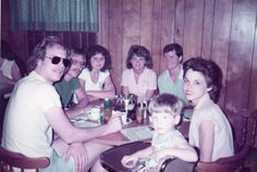 Wayne, Tom, Theresa, Cora, John, Monica  Chad 1984