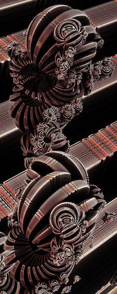 ApricotCandy by FractsSH.deviantart.com fractal art made with mandelbulb 3d