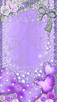 Pink Polka Dots Wallpaper, Bling Wallpaper, Cute Bedroom Ideas, Purple Backgrounds, Phone Wallpapers, Fairies, Gifs, Sparkle, Pretty