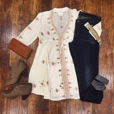 How much boho chic is too much boho chic? The limit does not exist.  Top $48 // Item 1007BM1 Shoes $38 // Item 1007BM2