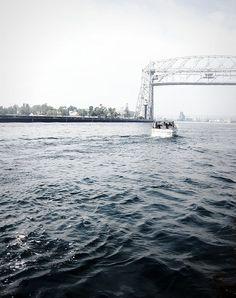 aerial lift bridge duluth, minnesota