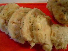 Horácké knedlíky Dumplings, Cauliflower, Mashed Potatoes, Vegetables, Ethnic Recipes, Food, Whipped Potatoes, Cauliflowers, Smash Potatoes