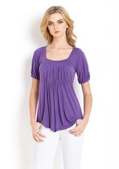 GREAT PLAINS Short Sleeve Jersey Top