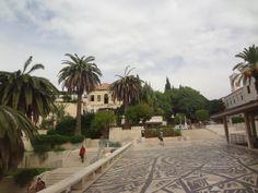 Площадь собора Св. Петра. Иерусалим. Израиль.