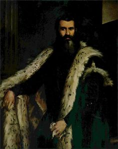 Portrait of Daniele Barbaro - Paolo Veronese