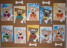 Healthy food list for kids diet free recipes Animal Art Projects, Animal Crafts For Kids, Kids Room Art, Art For Kids, Color Art Lessons, Puppy Crafts, Circle Crafts, Animal Design, Animal Paintings
