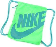Nike Heritage Gymsack Bag neon grün türkis