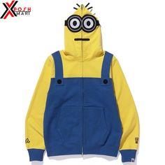 4c3a33f0955f Bape Hoodie - Bape Minion Hoodie - Bape Zipup Jacket