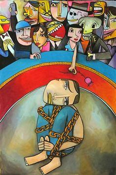 Artist And Audience By Jim Avignon Artist Pop Art Avignon