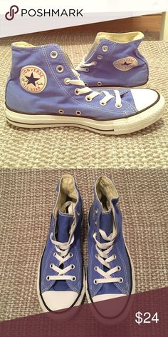 Converse Chuck Taylor High Tops High tops, hardly worn. Converse Shoes Sneakers