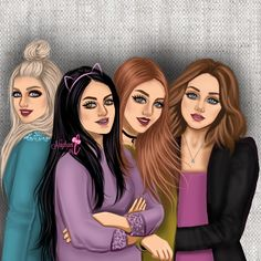 girly_m friends in school Girly M, Best Friend Drawings, Girly Drawings, 4 Best Friends, Best Friends Forever, Princesse Disney Swag, Sarra Art, Cute Girl Drawing, Art Friend