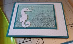By the tide. In the ocean by stampinterri - Cards and Paper Crafts at Splitcoaststampers