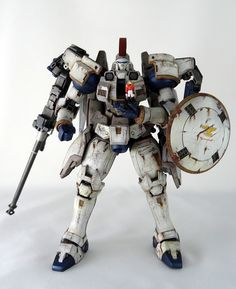 MG 1/100 OZ-00MS Tallgeese: Weathered/Damaged Ver. Modeled by ianlee0910