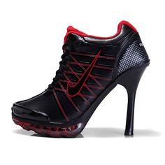 Claremont Nike Air Max 2009 High Heels Black Red-jordan release dates