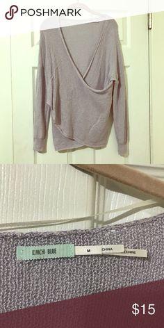 Light purple sweater Light purple sweater Sweaters V-Necks