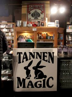 New York City hosts a number of magic shops, but only one can be the oldest. It is also perhaps the city's most hidden magic shop, as well as perhaps its most subdued magic shop.  Tannen's has been around since 1925, and has moved four times since then — its current space is a small room on the sixth floor of an unremarkable office building on busy 34th Street in Manhattan.