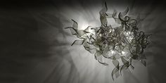 Our #Nastro light #murano #glass #chandelier #design #handmade