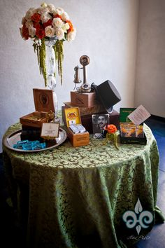 Cigar Table and a lot of other fun wedding stuff