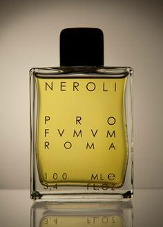 Neroli Profumum perfumes. Neroli luxury fragrances and colognes Italy. Italian luxury perfume bottle for man and woman.