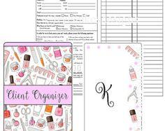Técnico/manicurista cliente organizador  por FryeCakesDesigns
