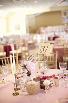 #table-numbers  Photography: Whitney Rae Photography - whitneyraephotography.com Planning, Floral + Event Design: Jaclyn Thomas Designs - jaclynthomasdesigns.com  Read More: http://www.stylemepretty.com/2011/08/26/louisville-wedding-by-whitney-rae-photography/