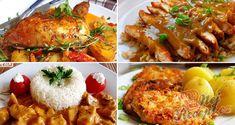 12 skvělých receptů, díky kterým už budete vědět co navařit na neděli! Borscht Soup, Appetizer Plates, Russian Recipes, Seafood Dishes, Tasty Dishes, Tandoori Chicken, Main Dishes, Breakfast Recipes, Vitamins