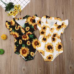 for sale Yellow Sunflower Infant Girls Romper Yellow Sunflower Infant Girls Romper For Sale Cute Baby Girl Outfits, Kids Outfits Girls, Baby Girl Romper, Cute Outfits, My Baby Girl, Baby Boys, Carters Baby, Country Babys, Baby Kids Clothes