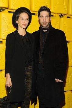 David Schwimmer & Zoe