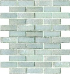 1x3 Inch Green Iridescent Glass Subway Tile $22.21/sq. comes in .9 sq