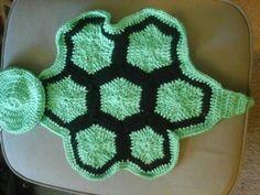 Turtle shell blanket