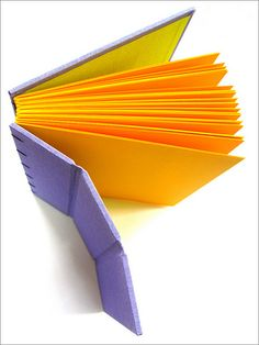 Flex by Zoopress studio, via Flickr - flexible journal #bookbinding