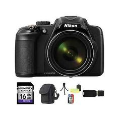 Nikon Coolpix P600 Digital Camera - Black 16GB Package. Deal Price: $414.89. List Price: $649.99. Visit http://dealtodeals.com/top-trending-deals/nikon-coolpix-p600-digital-camera-black-16gb-package/d19477/camera-photo/c45/