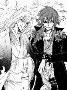 Find images and videos about black & white, kamisama hajimemashita and tomoe on We Heart It - the app to get lost in what you love. I Love Anime, Me Me Me Anime, Anime Guys, Kamisama Kiss, Chica Anime Manga, Anime Art, Manhwa, Tomoe And Nanami, The Garden Of Words