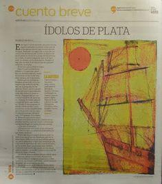 Publicado en el periódico argentino  La Voz del Interior  (26/05/13)  Patricia Nasello microrrelatos: Publicaciones en Argentina