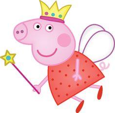 Peppa Pig fatina clipart - Cartoni animati Peppa Pig is a United kingdom preschool computer Molde Peppa Pig, Fiestas Peppa Pig, Cumple Peppa Pig, Peppa Pig Familie, Peppa Pig Painting, Peppa Pig Pictures, Peppa Pig Wallpaper, Pig Png, Peppa Big