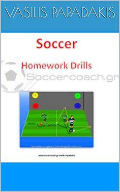 Soccer Homework Drills by Vasilis Papadakis Soccer Training, Homework, Football Stuff, Drills, Reading, Soccer Coaching, Football Workouts, Drill, Reading Books