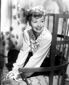 Lucille Ball   She always reminds us that it's ok to laugh at ourselves.