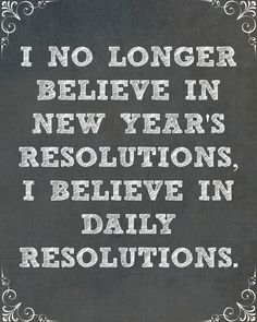 Making New Year's resolutions? Here's to making every day your best one yet!