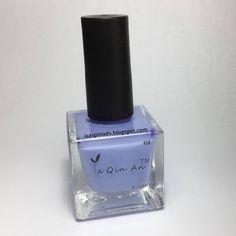 Little Fairy: Probando Esmalte de Estampar YaQinAn tono Azul 18 ...