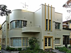 Melbourne Art Deco House by colros, via Flickr