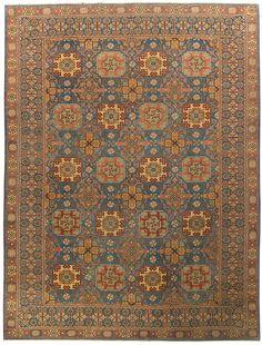 Tajzoy Oriental Rug #5635    Type: Ottoman Oushak    Size: 13-0 x 17-6
