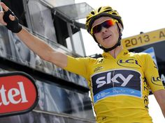 Chris Froome on Mont Ventoux in 2013.