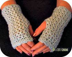 JR Crochet Designs: Elegant Wrist Warmers