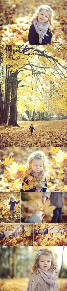 fall magic - photo by erinwallis.com would love to do a shoot like this with LJ