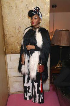 Janelle Monae Paris Fashion Week: Front Row and Parties   Harper's Bazaar